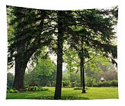 Trees In A Park, Adams Park, Wheaton Tapestry