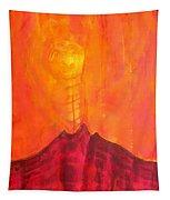 Tres Orejas Original Painting Tapestry