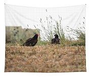 Turkey Vultures Tapestry