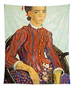 Van Gogh's La Mousme Tapestry