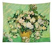 Van Gogh's Roses Tapestry