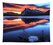 Vermillion Lakes Mount Rundle Tapestry