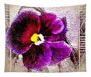 Vibrant Violet  Tapestry
