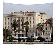 Views Of Split Croatia Tapestry