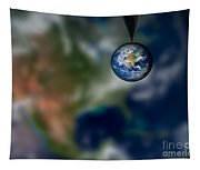 Water And Earth Tapestry