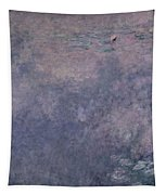 Waterlilies Two Weeping Willows Tapestry by Claude Monet