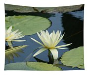 2 Waterlilys Rising Above The Water Tapestry