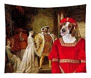 Welsh Springer Spaniel Art Canvas Print  Tapestry