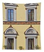 Windows Of Tuscany Tapestry