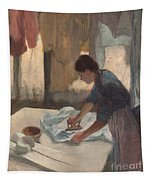 Woman Ironing Tapestry