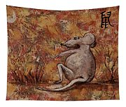 Year Of The Rat Tapestry