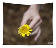 Yellow Flower Tapestry