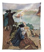 Battle Of Bunker Hill, 1775 Tapestry