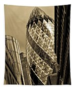 The Gherkin London Tapestry