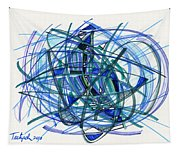 2010 Abstract Drawing 22 Tapestry
