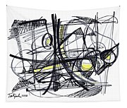 2010 Abstract Drawing 27 Tapestry