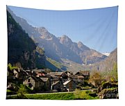 Alpine Village Tapestry