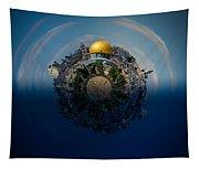 24 Hours In Jerusalem Tapestry