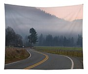 25 Mph At Dusk Tapestry