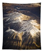 Aerial Mountains Tapestry