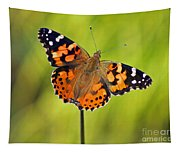 American Painted Lady Butterfly Tapestry