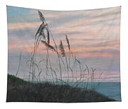 Beach Morning View Tapestry
