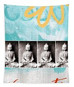 Buddha Tapestry by Linda Woods