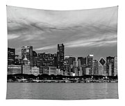 City At The Waterfront, Lake Michigan Tapestry