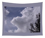 Clouds And Trees Tapestry