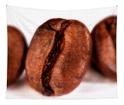 3 Coffee Beans Tapestry