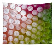 Colorful Straws Tapestry