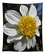 Dahlia Named Platinum Blonde Tapestry