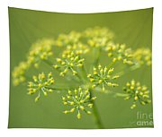 Yellow Dill Flower Tapestry