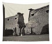 Egypt Luxor Temple Tapestry