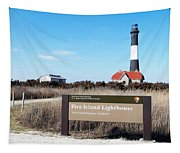 Fire Island Lighthouse Tapestry