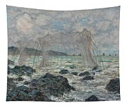 Fishing Nets At Pourville Tapestry