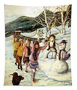 Frosty Frolic Tapestry