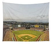 Home Of The Dodgers Tapestry