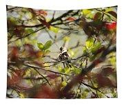 Hummingbird In Spring Tapestry