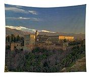 La Alhambra Granada Spain Tapestry