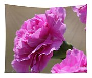 Lavender Carnations Tapestry