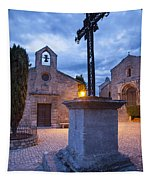 Les Baux Iron Cross Tapestry