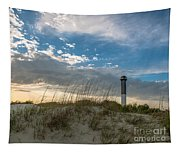 Sc Lighthouse View Tapestry