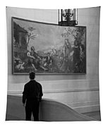 Looking At A Painting Tapestry