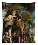 Mars And Venus United By Love Tapestry