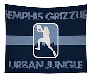 Memphis Grizzlies Tapestry