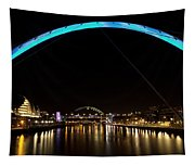 Newcastle Quayside And Sage Gateshead Tapestry