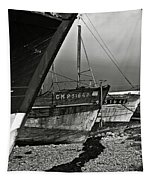 Old Abandoned Ships Tapestry