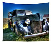Old Truck At Bodie Tapestry