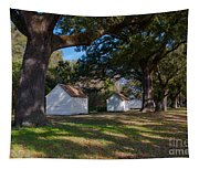 Plantation Cabins Tapestry